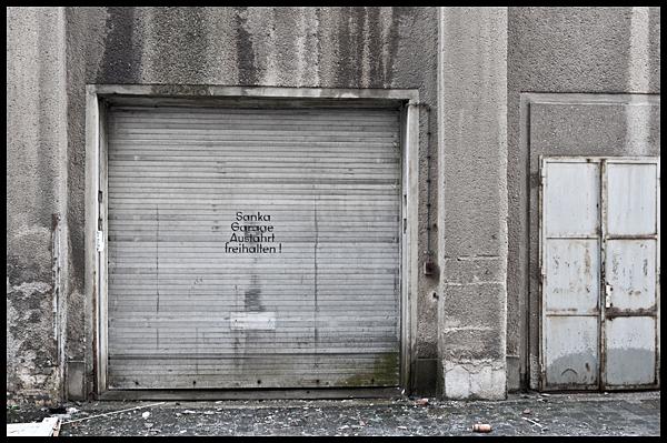 Bleichert Werke Leipzig, Sanka-Garage - 2. März 2013